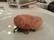 buccia di patata fritta