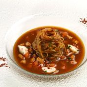 capellini aglio, olio e peperoncino