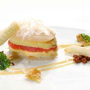 parmigiana di pere nashi e provolone