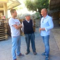 Fulvio, Felice e Patrick Ricci