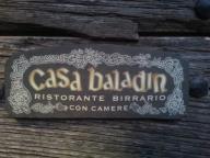 Casa Baladin door