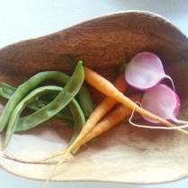 vinaigrette vegetable peas mayonnaise