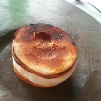 crisp meringue sandwich sorbet