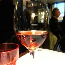 wine at La Moderna Testaccio