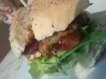 veggie burger by Bonci