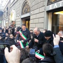 Oscar Farinetti e Matteo Renzi