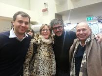 Francesco Farinetti, Teo Musso Sergio Capalbo