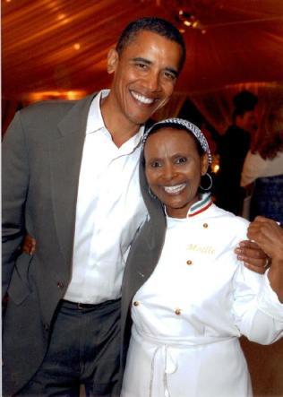 Obama e Mollie