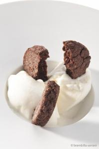 2012 gelato di formaggio ragusano e biscottini al cioccolato