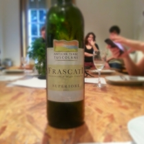 Frascati wine