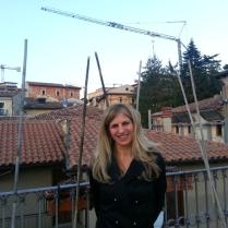 Romina Muzi e suo terrazzo