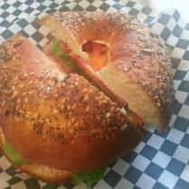 bagel salmone