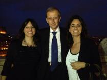Veronica, Piero Fassino, Silvia