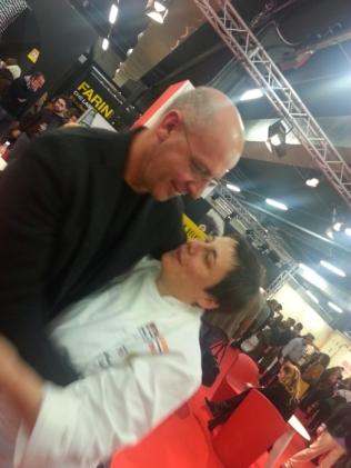 Franco Pepe e Antonia Klugman