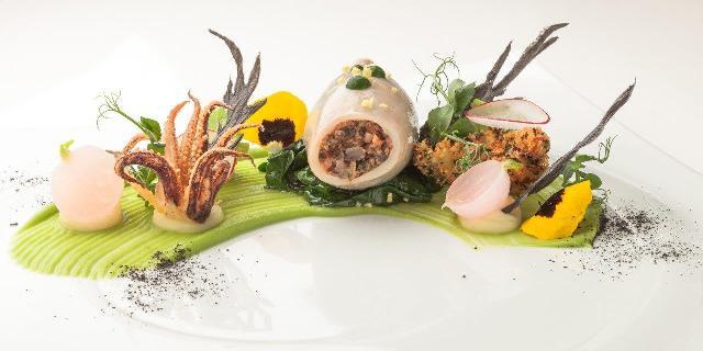 calamaro farcito di Igor Macchia / Squid stuffed by Igor Macchia