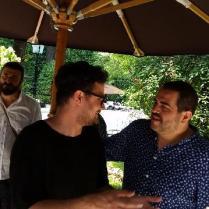 Luciano Monisilio e Roy Caceres