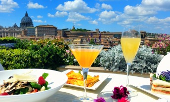 Terrazza Les Etoiles Roma Da Gustare All Day Long Giridigusto